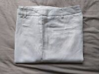 Next Linen Trousers - Brand New - Size 10R RRP £28.00