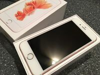 Iphone 6S Rose Gold 64GB - As new unlocked