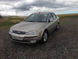 2004 Ford Mondeo 2.5 V6 Ghia X 6 speed manual 12 months MOT