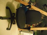 Senator office style, swivel chair. Hardly used; like new.