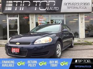 2011 Chevrolet Impala LS ** Low KM, Well Equipped, Great Price *