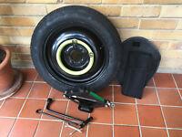 Space saver wheel; Kia Venga.