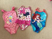 Girls Swimming Costumes 2-3 years