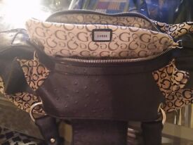 Original Guess logo print handbag