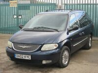 2002 (02 reg), Chrysler Grand Voyager 2.5 CRD Limited 5dr