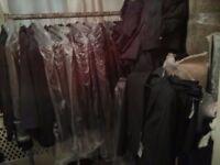 Men's & Ladies Suit Jackets, Skirts & Trousers (Job Lot)