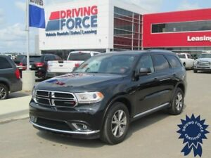 2016 Dodge Durango Limited 6 Passenger w/Backup Camera, 3.6L