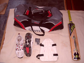 8 ITEMS OF YOUTH'S CRICKET ITEMS- £18 FOR ALL 8 ITEMS