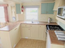 3 bedroom holiday caravan on Isle of Wight available weeks commencing 8th, 15th & 22nd September.