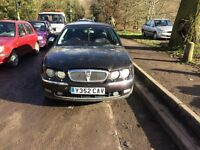 2001 Rover 75 Connoisseur Auto 3L 4dr Red BREAKING FOR SPARES