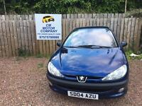 2004 PEUGEOT 206 1.4 MOT MAY 2018! GOOD CONDITION THROUGHOUT! DRIVE AWAY TODAY FOR ONLY £695!