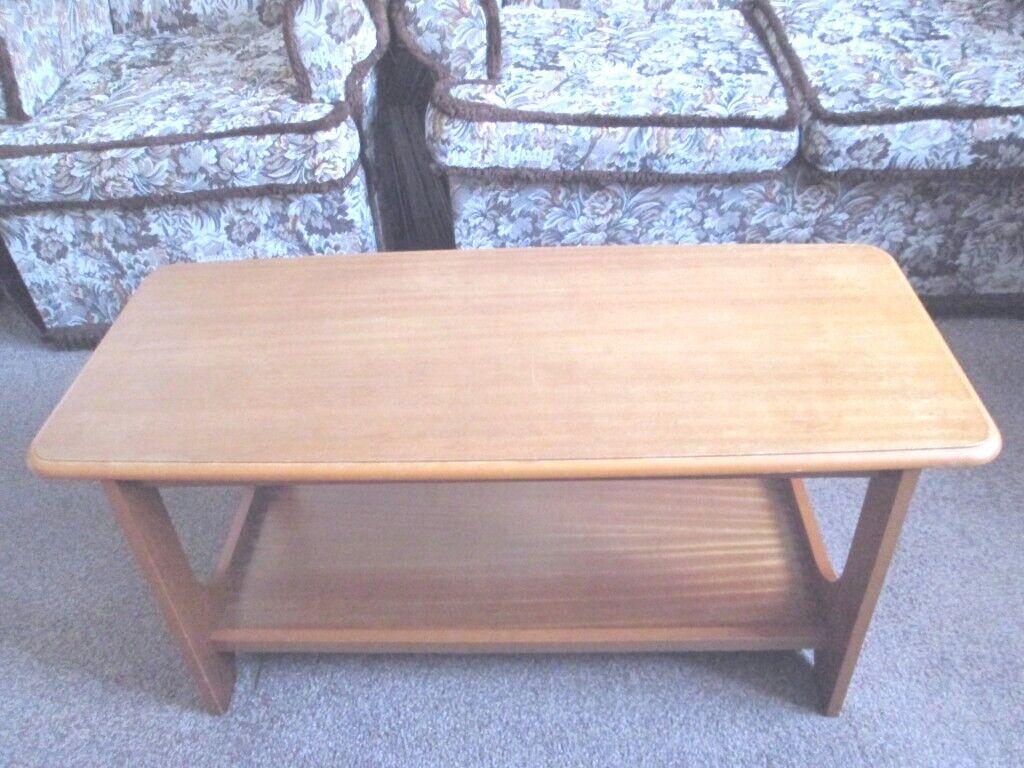 Retro Mahogany Sapele Coffee Side End Table | in Halstead, Essex | Gumtree