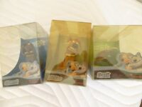 SET OF 3 CREATURE COMFORT FIGURES FROM 2004
