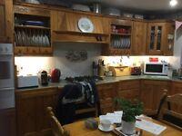 Solid pine kitchen
