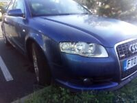 AUDI A4 TDI S LINE NEW MOT F/S/H GREAT CONDITION