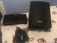 4 channel Amp head and passive speaker for sale
