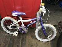 """Probike Glitter Girls 16"""" Wheel Bike. Lovely Condition, Serviced, Free Local Delivery"""