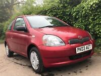TOYOTA YARIS 1.0 **MOT EXPIRES MAY 2019** IDEAL 1ST CAR** GREAT CONDITION**