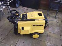 Karcher HDS 555CI Hot Pressure Washer + extension hose