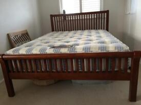 SOLD Double Bed and Mattress