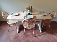 Beautiful Ercol Farmhouse Refectory Table Kitchen Dining Room (TABLE ONLY)