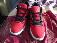 Jordan Flight 23 317820-601 Red Men's UK size 12