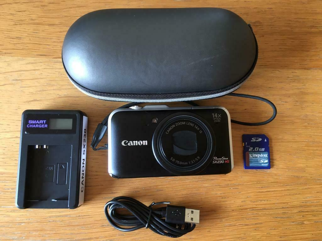 Canon SX230 HS 12 1mp camera | in Guildford, Surrey | Gumtree