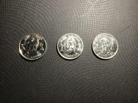 English 1998 football club coin set of 3