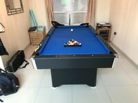 For sale in perfect condition 7ft Callisto pool table