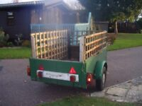 Box Trailer ready for work