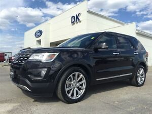 2016 Ford Explorer Limited 4WD Accident Free, Moonroof, Tow PKG