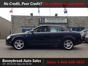 2008 Audi A4 2.0T S Line awd power sunroof leather