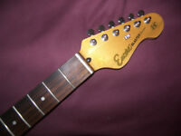 Encore Blaster Stratocaster / Electric Guitar Neck + Tuners.