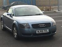 2005 AUDI TT GLACIER BLUE RARE MODEL LOW MILES WITH FSH CAMBELT DONE STUNNING INSIDE AND OUT PX