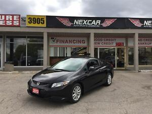 2013 Honda Civic EX C0UPE AUT0 A/C SUNROOF BACK UP CAMERA 83K