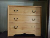 CHEAP Solid pine chest of drawers