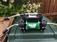 Salamander shower pump, 2 shower.