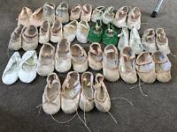 Children's Ballet Shoes size's 7-1
