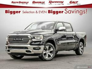 2019 Ram All-New 1500 Laramie | DUAL SUNROOF | VENTED LEATHER