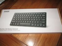 Brand new ultra slim wireless keyboard
