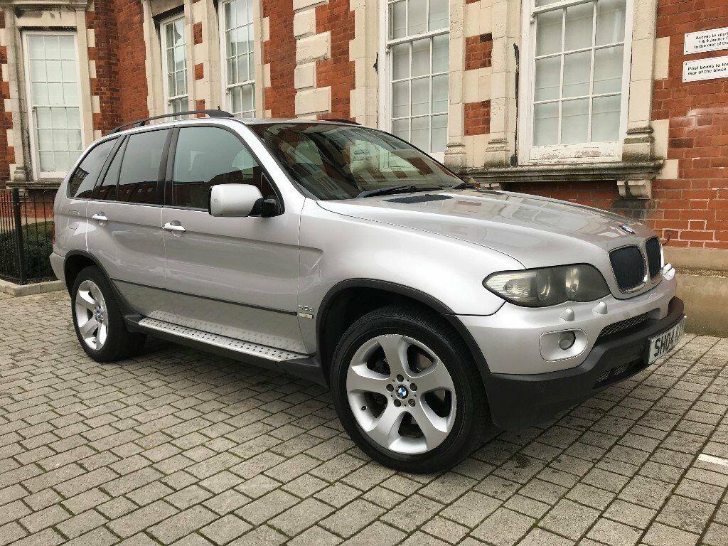 bmw x5 3 0 d sport 5dr silver low mileage full service history very clean 2004 in edgware. Black Bedroom Furniture Sets. Home Design Ideas