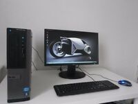 DELL OPTIPLEX 390-i5----+LG 22 INCH MONITOR LCD SET UP