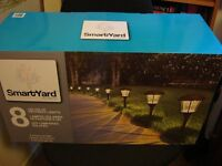 SmartYard ALPAN, 8 Solar LED Large Pathway Lights (new)