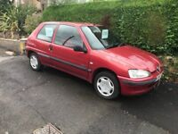 Peugeot 106 small 5 seater economical car with tow bar included - W Reg (2000)