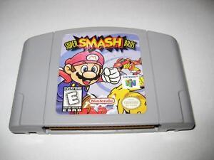 Super Smash Bros Brothers Nintendo 64 Cartridge N64