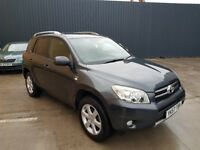 TOYOTA RAV4 XT-R D-4D 5 DR ESTATE **FULL TOYOTA HISTORY*ONE OWNER FROM NEW**FULL LEATHER INTERIOR**