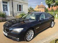 BMW 730D *FSH, HPI CLR, VGC, Good Runner, Cream Interior, Low Mileage Luxury Auto Diesel Sedan*