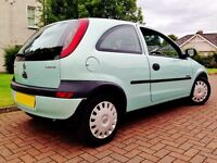 Corsa, £1300 down to £995, long MOT, low mileage, fabulous condition, drives great.