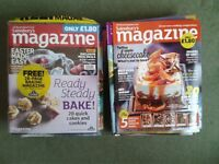 Lot of 25 Issues of Sainsbury's Magazine 2012 to 2014 recipes, food, cooking, baking, lifestyle
