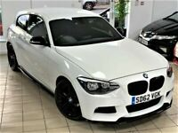 STUNNING (2012) BMW 118D M SPORT M PERFORMANCE 2.0D+DAB +SAT NAV+ FSH + FREE DELIVERY TO YOUR DOOR